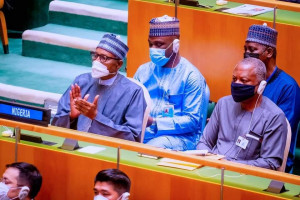 Buhari, Biden, others attend opening of UNGA 76 in New York