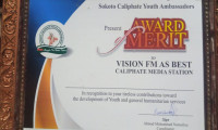 Vision FM Sokoto Wins Big at Caliphate Youth Ambassadors award